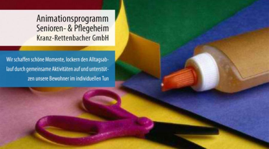 Animationsprogramm im Pflege- und Seniorenheim Kranz-Rettenbacher